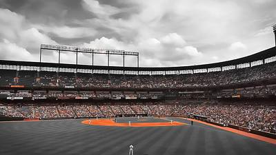 Photograph - Camden Yards by Chris Montcalmo