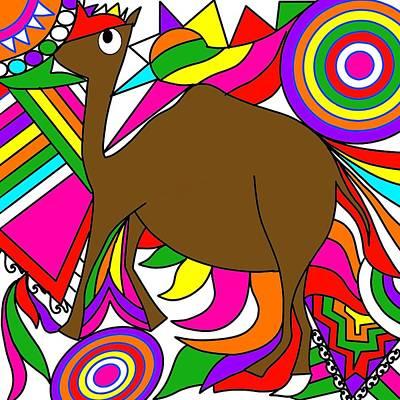 Painting - Camel Art by Pratyasha Nithin