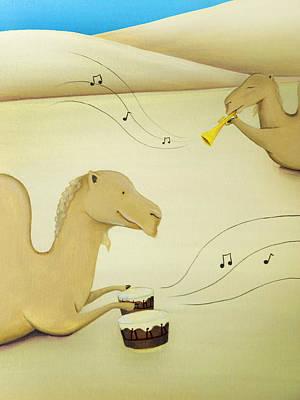 Camel Band Original by Lael Borduin