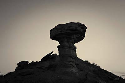 Photograph - Camel Rock I Toned Santa Fe Nm by David Gordon