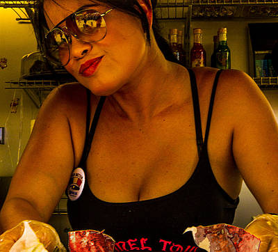 Photograph - Camel Taco Hostess by Jeff Kurtz