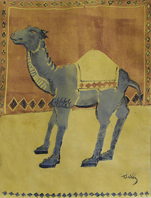 Camel With Diamonds Art Print