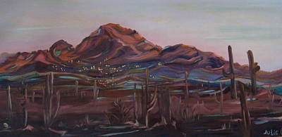 Camelback Mountain Art Print