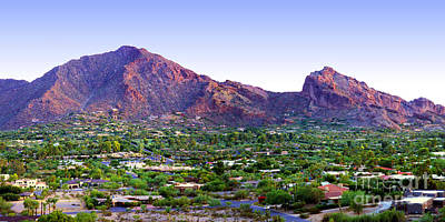 Photograph - Camelback Mountain, Phoenix, Arizona by Wernher Krutein