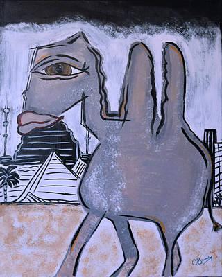 Camelia  Art Print