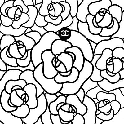 Glamour Digital Art - Camellia Cc by Tres Chic