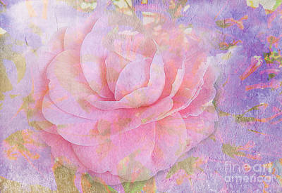 Camellia Flower One Art Print