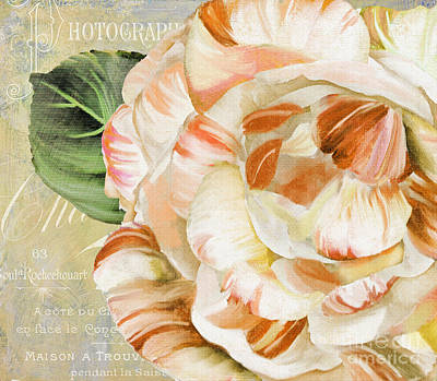 Camellia II Print by Mindy Sommers