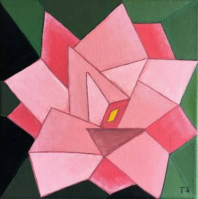Painting - Camellias by Tamara Savchenko