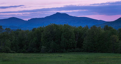 Hump Photograph - Camel's Hump At Twilight by Jeff Bazinet