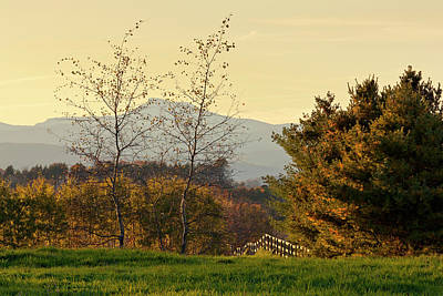 Photograph - Camel's Hump Late Fall by Alan L Graham