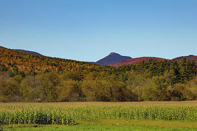 Photograph - Camels Hump Mountain In Fall by Jeff Folger