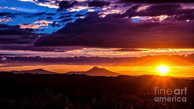 Photograph - Camels Hump Sunset by Scenic Vermont Photography