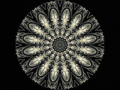 Digital Art - Cameo Mandala by Susan Maxwell Schmidt
