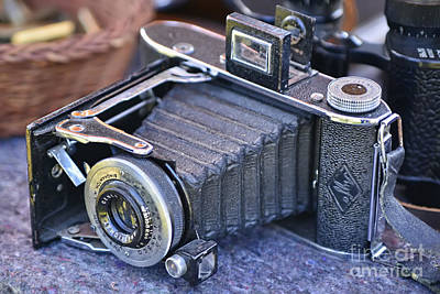 Photograph - Camera Ansco Binghamton New York by Olga Hamilton