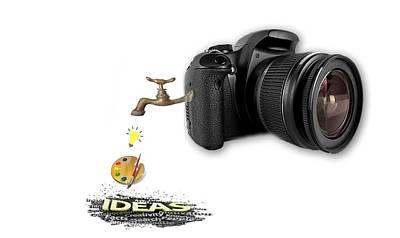 Digital Art - Camera Full Of Ideas by Pat Cook