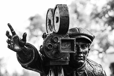 Photograph - Camera Man - 1 by Nicholas Evans