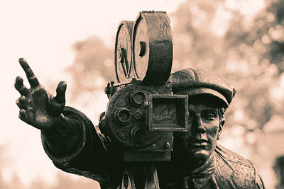 Photograph - Camera Man - 2 by Nicholas Evans