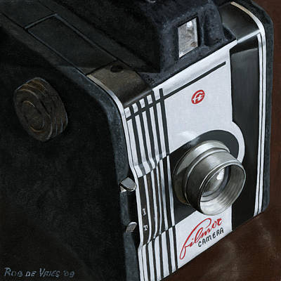 Painting - Camera by Rob De Vries