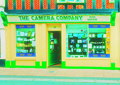 Photograph - Cameras On Display  by Jan W Faul