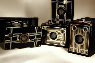 Photograph - Cameras Past by Mike Eingle