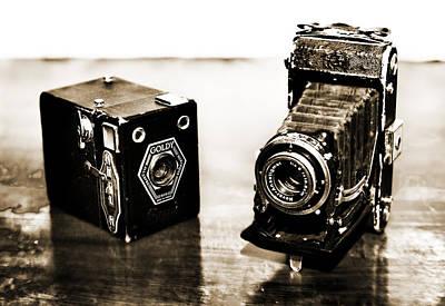 Cameras Art Print by Thomas Kessler