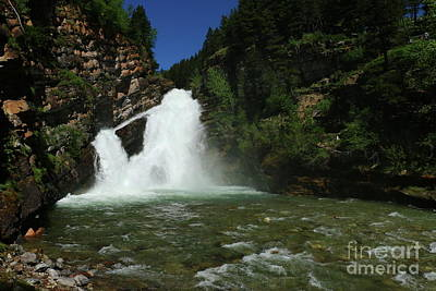 Photograph - Cameron Falls by Christiane Schulze Art And Photography