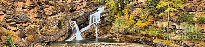 Photograph - Cameron Falls Panorama by Adam Jewell