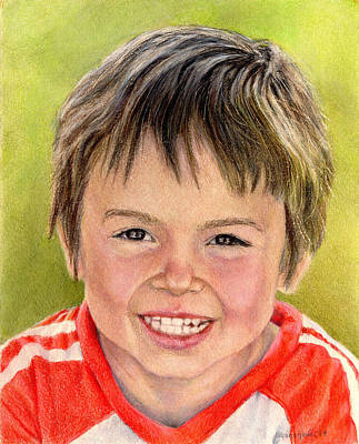 Drawing - Cameron by Shana Rowe Jackson