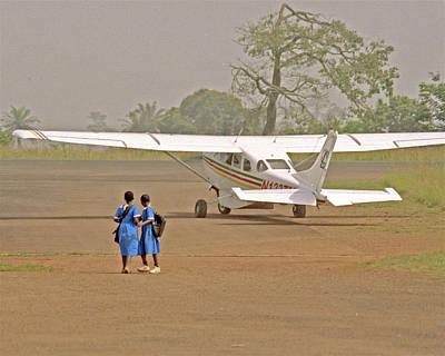 Cameroon Airstrip Art Print