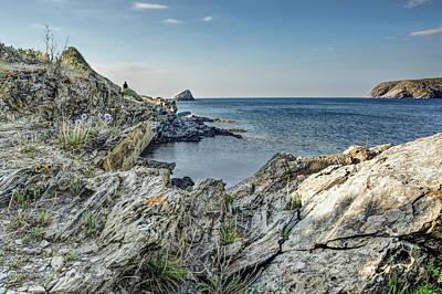Rocks Photograph - Cami De Ronda, Cadaques Catalonia by Marc Garrido