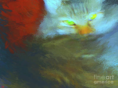 Painting - Camilla Cat 1 by Gerhardt Isringhaus