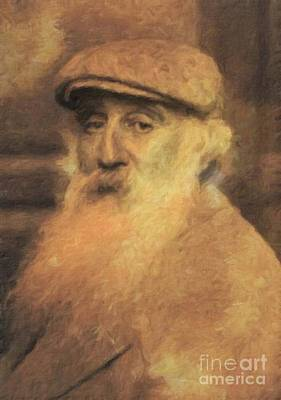 Literature Painting - Camille Pissaro, Artist By Mary Bassett by Mary Bassett