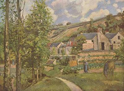 Bicycle Patents - Camille Pissarro, Landscape at Pontoise by Camille Pissarro
