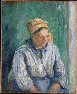 Camille Pissarro    Washerwoman Study Art Print