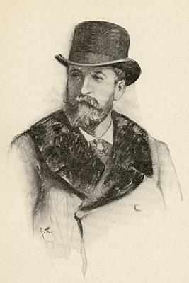 Camille Saint-sa Ns, 1835-1921. French Print by Vintage Design Pics