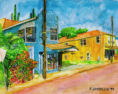 Painting - Camilles Place by Eric Samuelson
