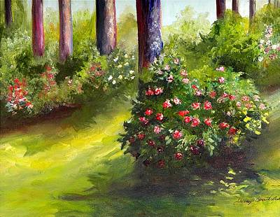 Painting - Camillia by Shirley Lawing