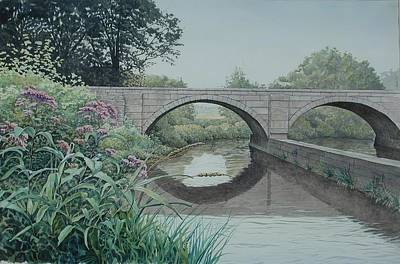 Camillus Canal Art Print by Stephen Bluto