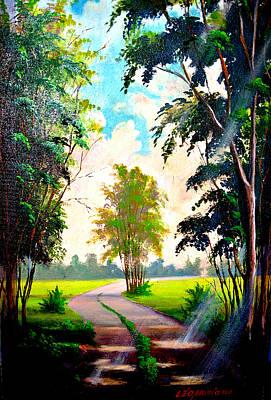 Painting - Caminho by Leomariano artist BRASIL