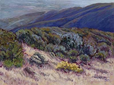 Painting - Camino Cielo View by Betsee Talavera