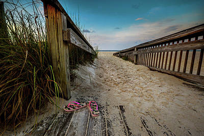 Photograph - Camo Flip Flops by Michael Thomas