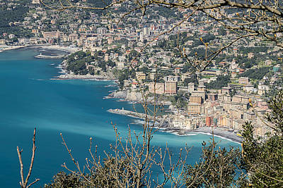 Photograph - Camogli And The Paradise Coast by Enrico Pelos