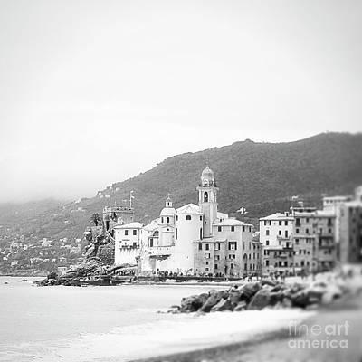 Photograph - Camogli Bw by Ivy Ho