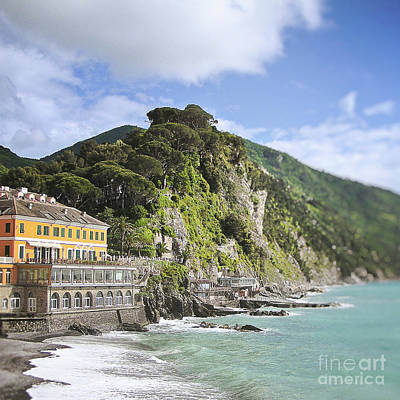 Photograph - Camogli Seaside Villa by Ivy Ho