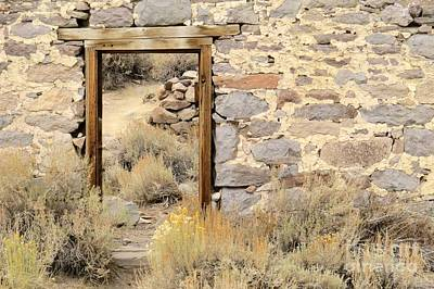Photograph - Doorway To Nowhere by Frank Townsley