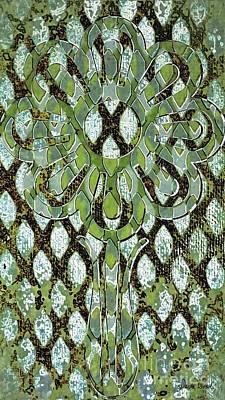 Digital Art - Camouflaged Flower-no1 by Darla Wood