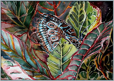 Camouflage Drawing - Camouflaged  by Mindy Newman