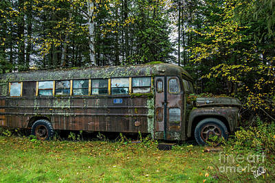 Photograph - Camp Bus by Alana Ranney
