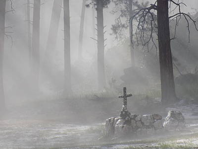 Photograph - Camp Cross by Rodger Ellingson